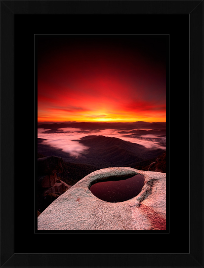 Reborn by Russell Stewart - sunrise mt buffalo victoria