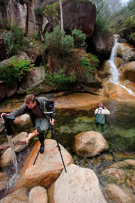 ladies bath falls eurobin creek mt buffalo victoria