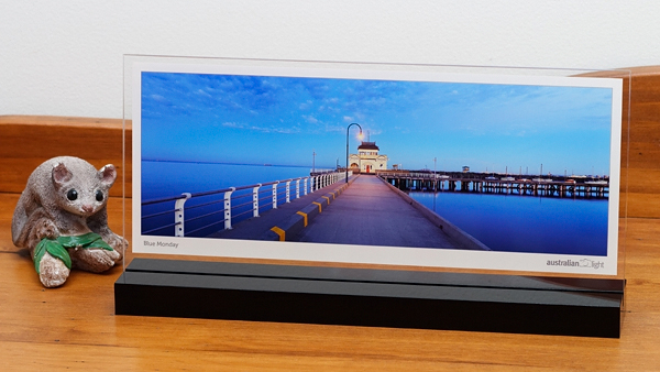 for the very first time our beautiful australian landscape panoramic prints can take pride of place on your mantelpiece display shelf or desk at work