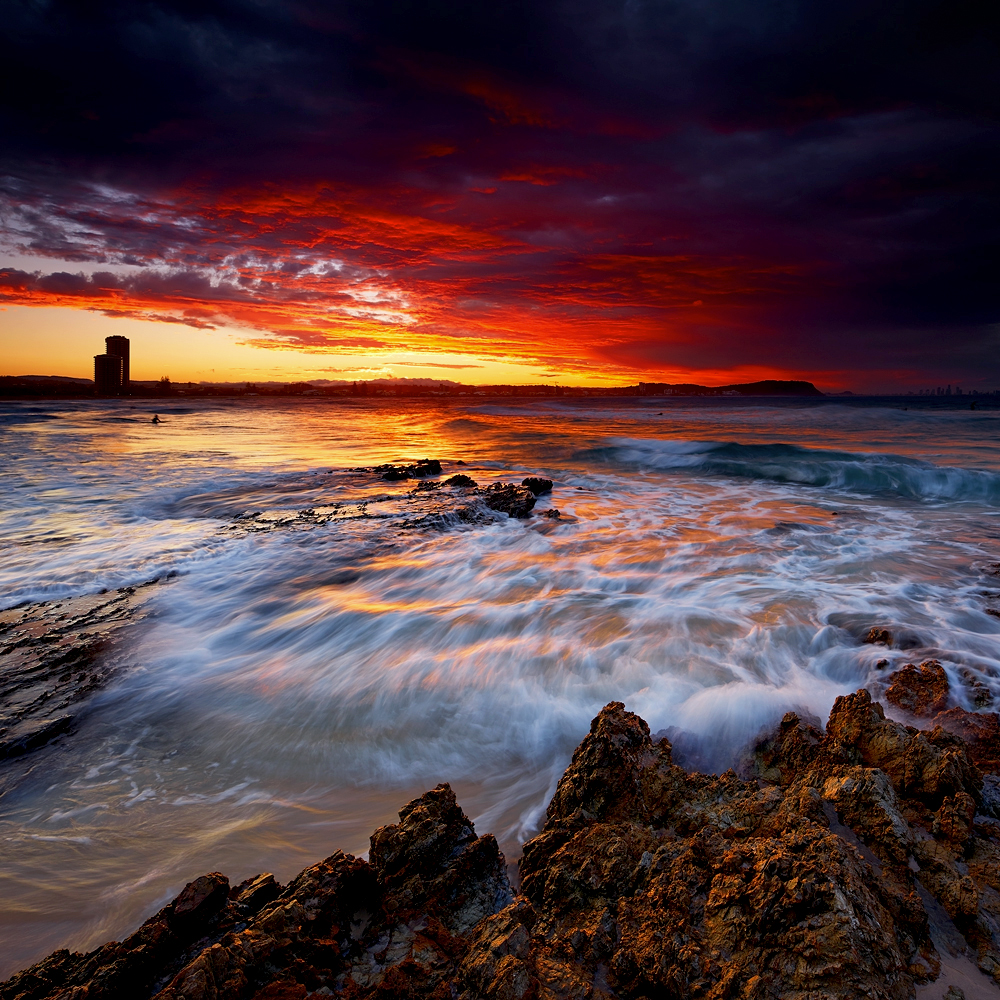 After The Storm - Currumbin Rocks, QLD