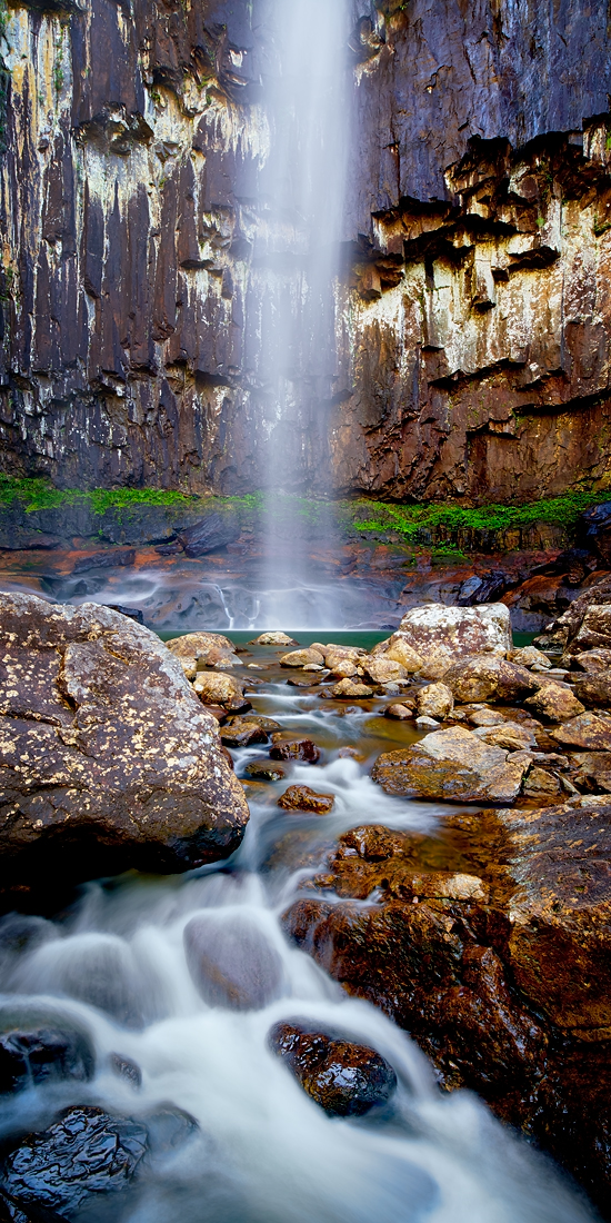 The Base of Minyon Falls - near Bangalow, NSW