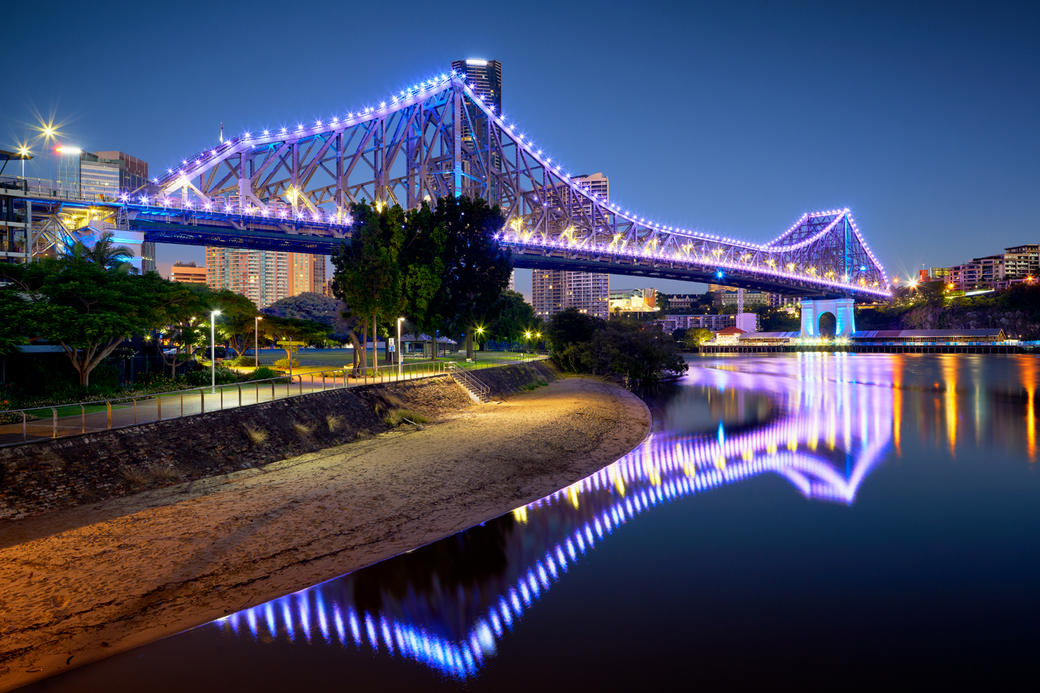 Story Bridge Lights Open Edition Photos